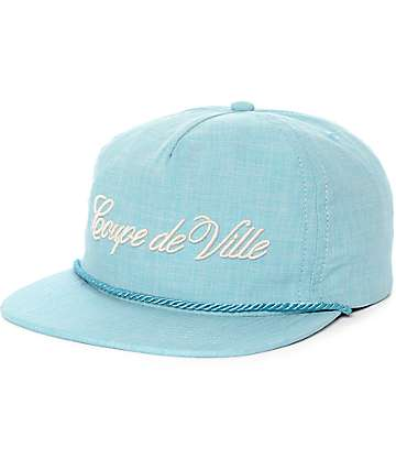 ABC Hat Co. Coupe De Ville Snapback Hat