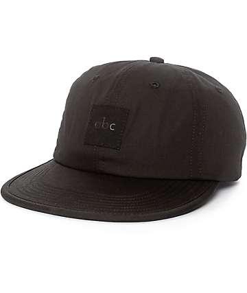 ABC Hat Co. Train Black Strapback Hat