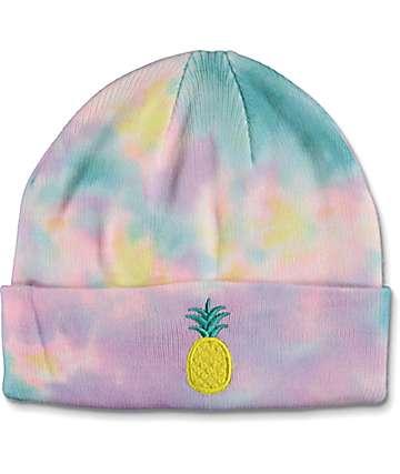 ALAB Pineapple gorro con efecto tie dye