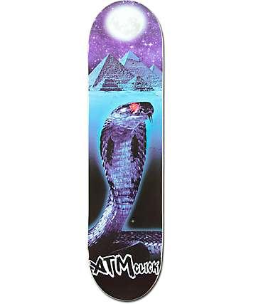 """ATM Lone Spirit Snake 7.75""""  Skateboard Deck"""