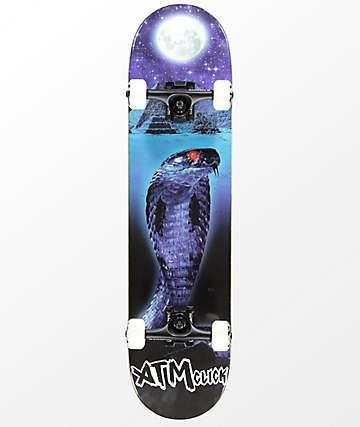 """ATM Lone Spirit Snake 7.75"""" Complete Skateboard"""