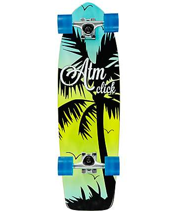 "ATM Palm Tree 27"" Cruiser Complete Skateboard"