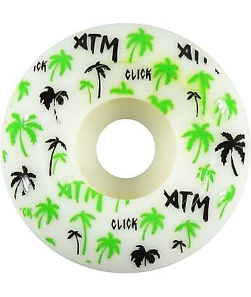 ATM Palm Tree Side Cuts 53mm Skateboard Wheels