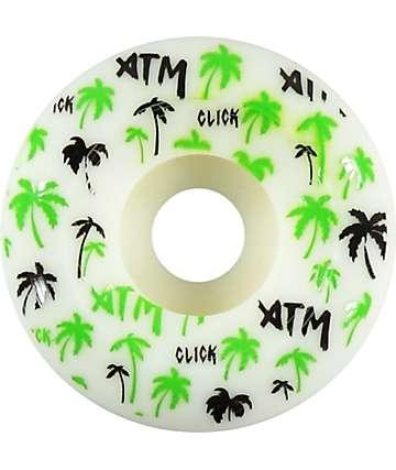 ATM Palm Tree Side Cuts 53mm Skateboard Wheels