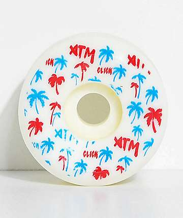 ATM Palm Tree Side Cuts 55mm Skateboard Wheels