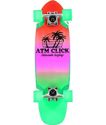 """ATM Sidewalk Surfing 27"""" Cruiser Complete Skateboard"""
