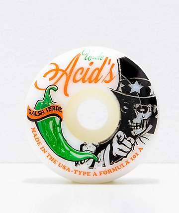 Acid Chemical Co. Uncle Chile 54mm Skateboard Wheels