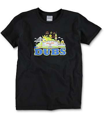 Adapt Dubs Black Boys T-Shirt
