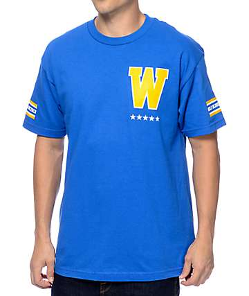 Adapt Gold Blooded Royalty 73 Blue T-Shirt