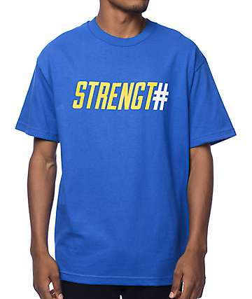 Adapt Strength In Numbers Blue T-Shirt