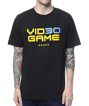 Adapt Video Game Black T-Shirt