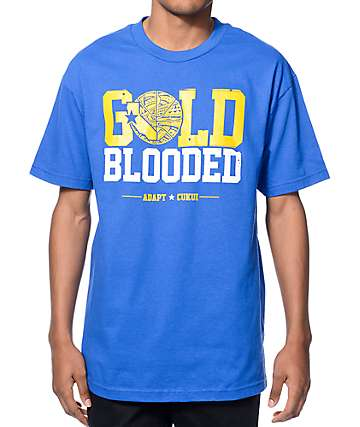 Adapt x Cukui Gold Blooded Royal Blue T-Shirt