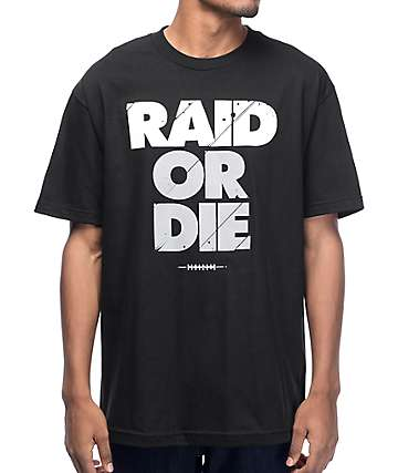 Adapt. Raid Or Die Black T-Shirt
