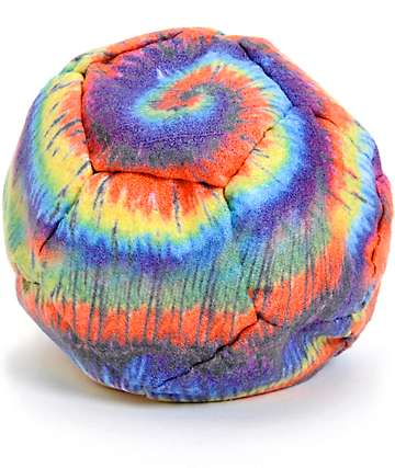 Adventure Imports Tie Dye Spiral Hacky Sack