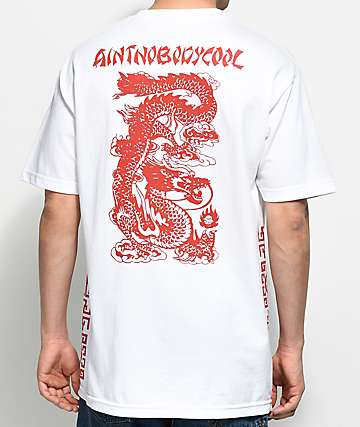 Ain't Nobody Cool Takeout camiseta blanca