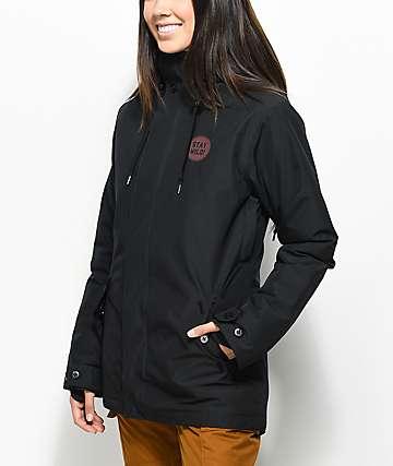 Airblaster Stay Wild Parka Black 10K Snowboard Jacket