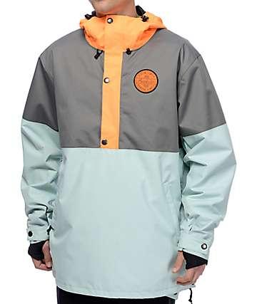 Airblaster Trenchover Hot Mango 15K Snowboard Jacket