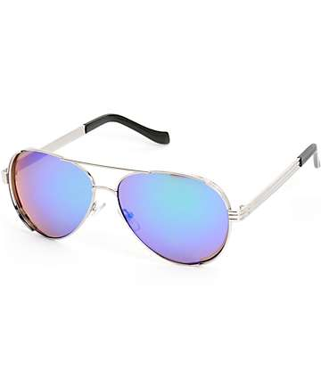 Airman Thick Aviator Sunglasses