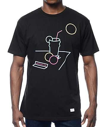 Akomplice & The Livin's Easy Black T-Shirt