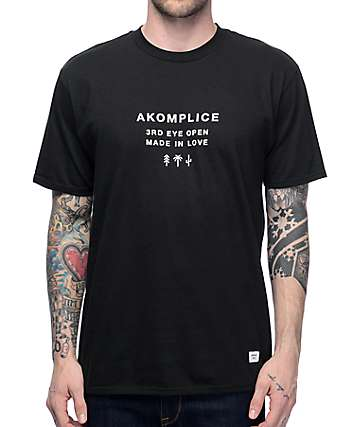 Akomplice All Black T-Shirt