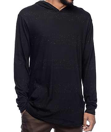 Akomplice Astor Long Sleeve Black Hoodie