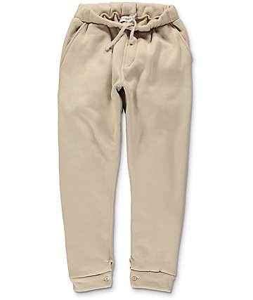 Akomplice Mendoza Tan Fleece Jogger Pants