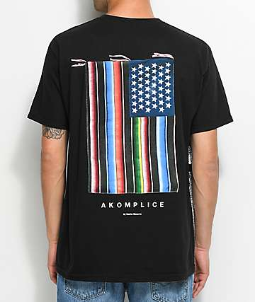 Akomplice Mi Bandera camiseta negra