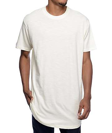 Akomplice Moan Elongated Creme T-Shirt