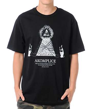 Akomplice Money Black T-Shirt
