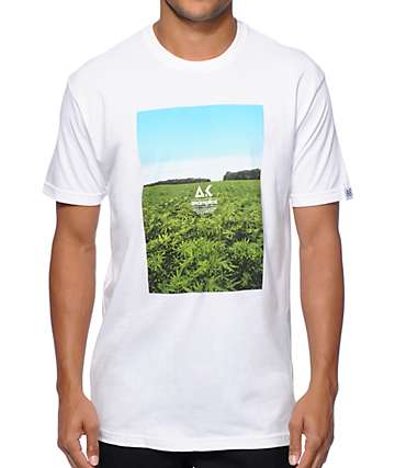 Akomplice Sea Of Green Box Logo T-Shirt
