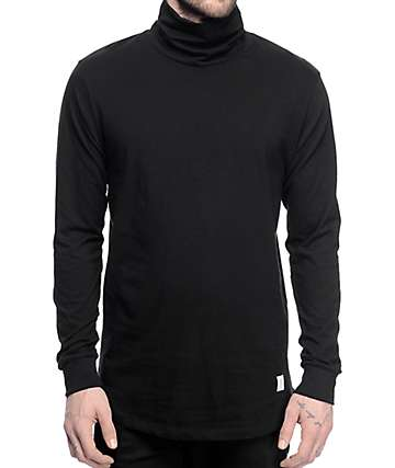 Akomplice VSOP Alpha Black Turtle Neck Long Sleeve T-Shirt