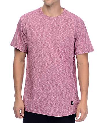 Akomplice VSOP Color Drop Tail Heather Red T-Shirt