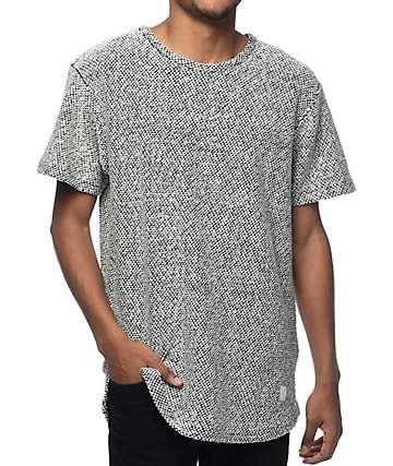 Akomplice VSOP Savile Black & White Marled Knit T-Shirt