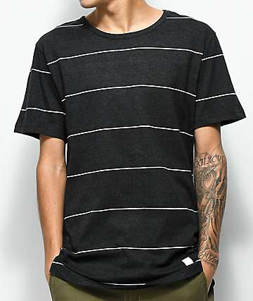 Akomplice VSOP Spaced Out camiseta a rayas negras y blancas