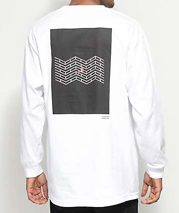 Akomplice x Synchrodogs 3.141 White Long Sleeve T-Shirt