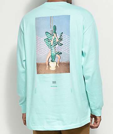 Akomplice x Synchrodogs Hidden Luster camiseta de manga larga en menta