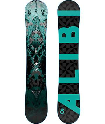 Alibi Motive 157cm Wide Snowboard