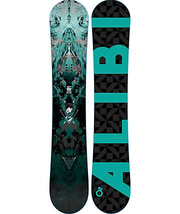 Alibi Motive 163cm tabla de snowboard ancha