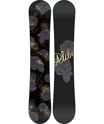 Alibi Muse 145cm tabla de snowboard para mujer