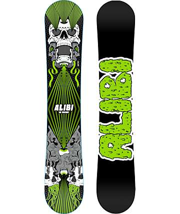 Alibi Sicter 158cm tabla de snowboard