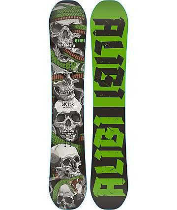Alibi Sicter 163cm tabla de snowboard ancha