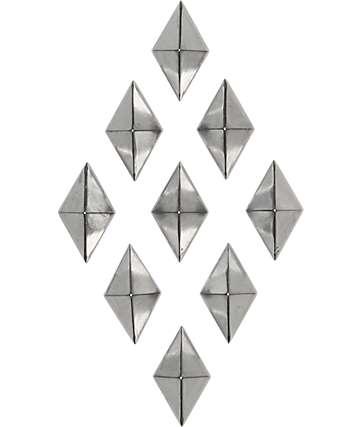 Alibi Silver Diamond Snowboard Stomp Pad