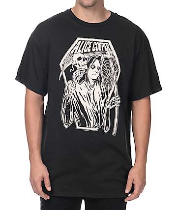 Alice Cooper Reaper Black T-Shirt
