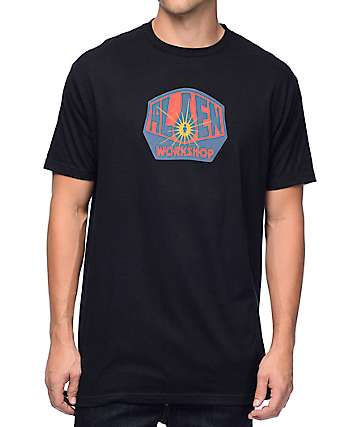 Alien Workshop Alien Logo Black T-Shirt