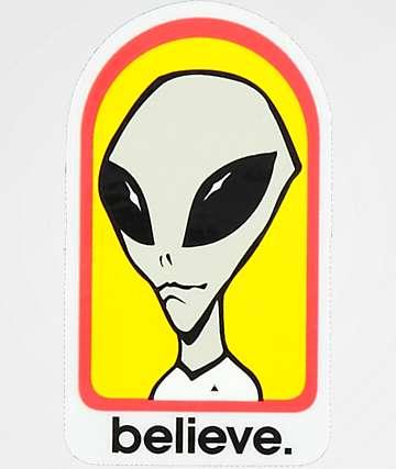 Alien Workshop Believe Sticker