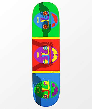 "Alien Workshop Guevara No Evil 8.25"" Skateboard Deck"