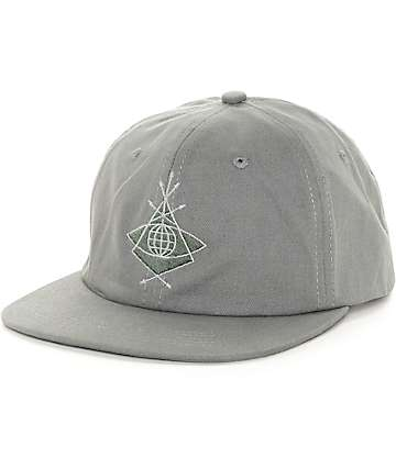Alien Workshop Mystery School Grey Strapback Hat