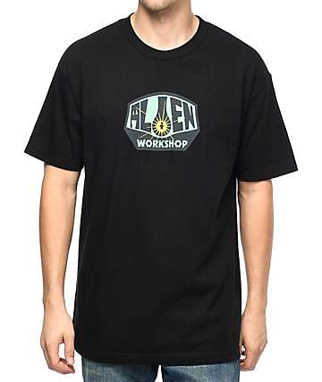 Alien Workshop OG Logo camiseta negra