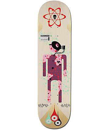 "Alien Workshop Radiation Damaged Goods 8.0"" Skateboard Deck"