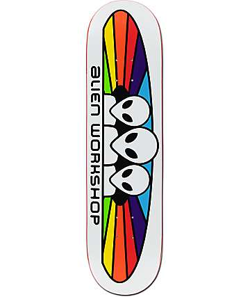 "Alien Workshop Spectrum 8.0"" Skateboard Deck"